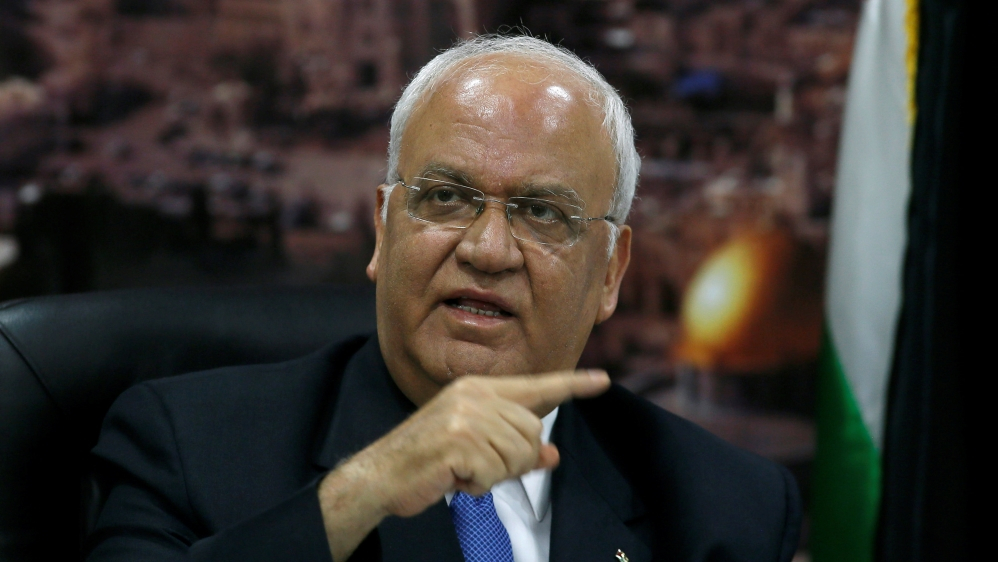 COVID-19: лидер ООП Саеб Эрекат в «критическом» состоянии