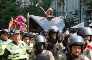Киевский прайд в Украине в 2017 году.