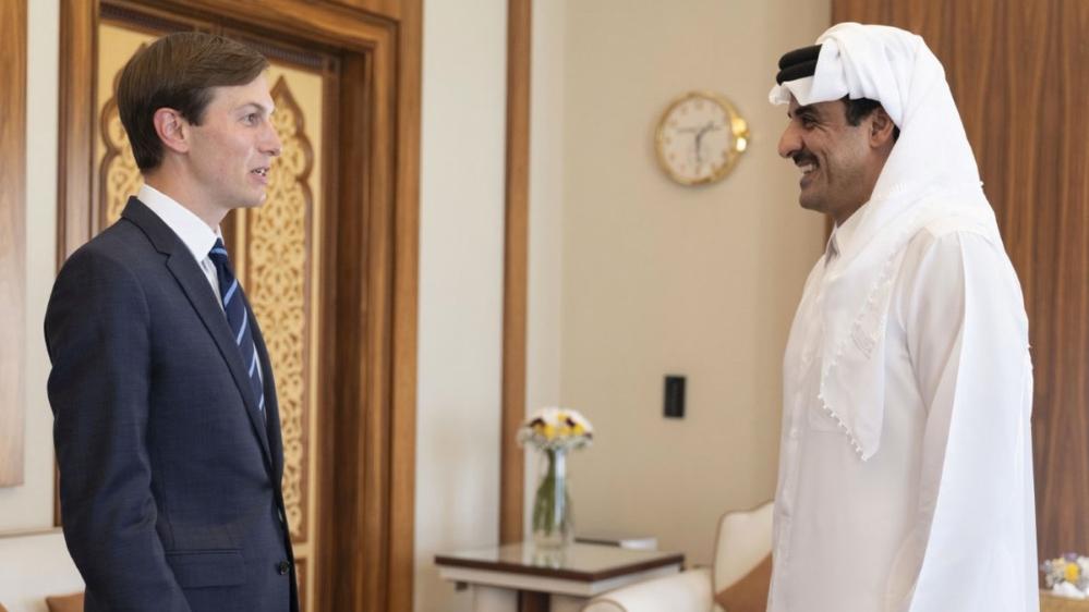 Советник Трампа Кушнер и команда отправляются в Катар, Саудовская Аравия