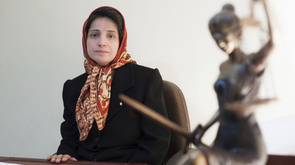 Иран: заключенный в тюрьму адвокат Насрин Сотудех временно освобожден