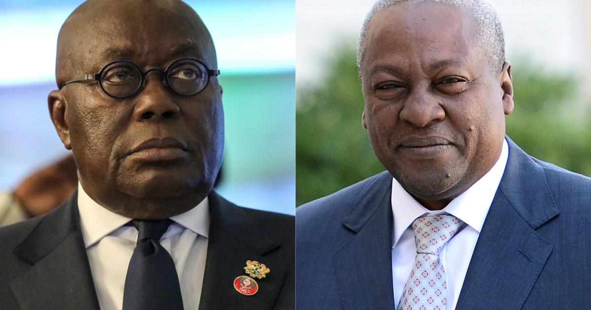 На жестких президентских выборах в Гане старые соперники снова вступают в бой