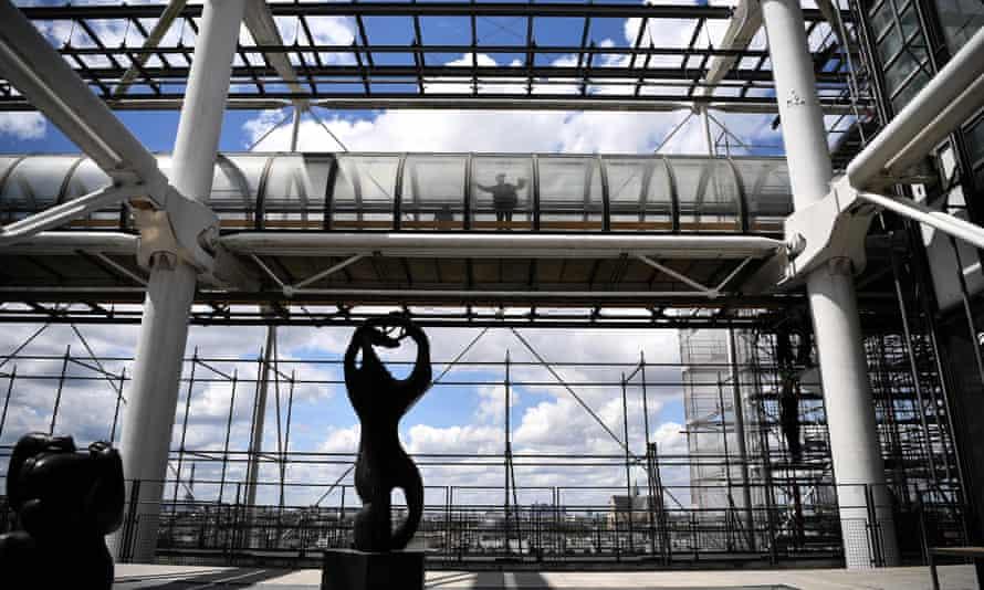 Центр Помпиду будет закрыт на реконструкцию с 2023 по 2027 год.