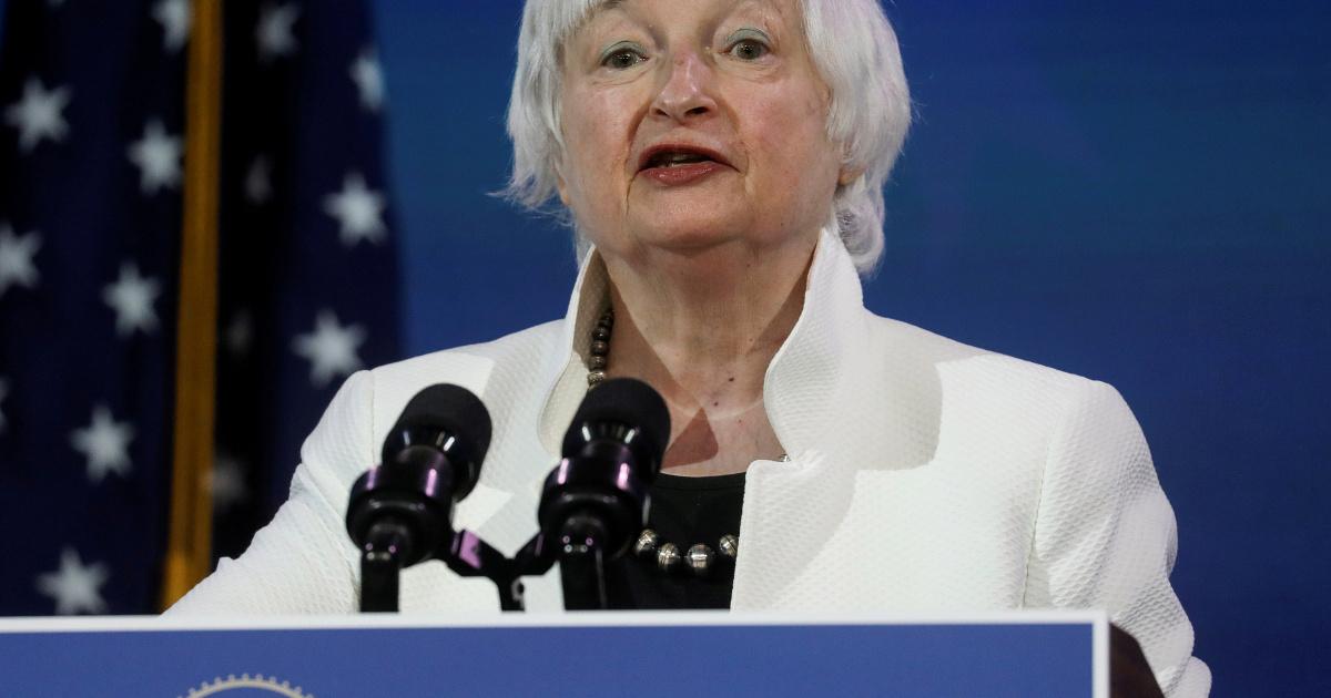 Министр финансов США Йеллен, глава МВФ, призвала к решению проблемы многостороннего долга