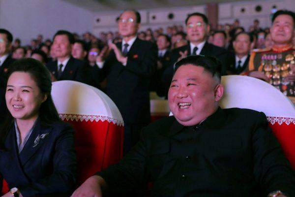Жена корейца Ким впервые за год появилась на публике