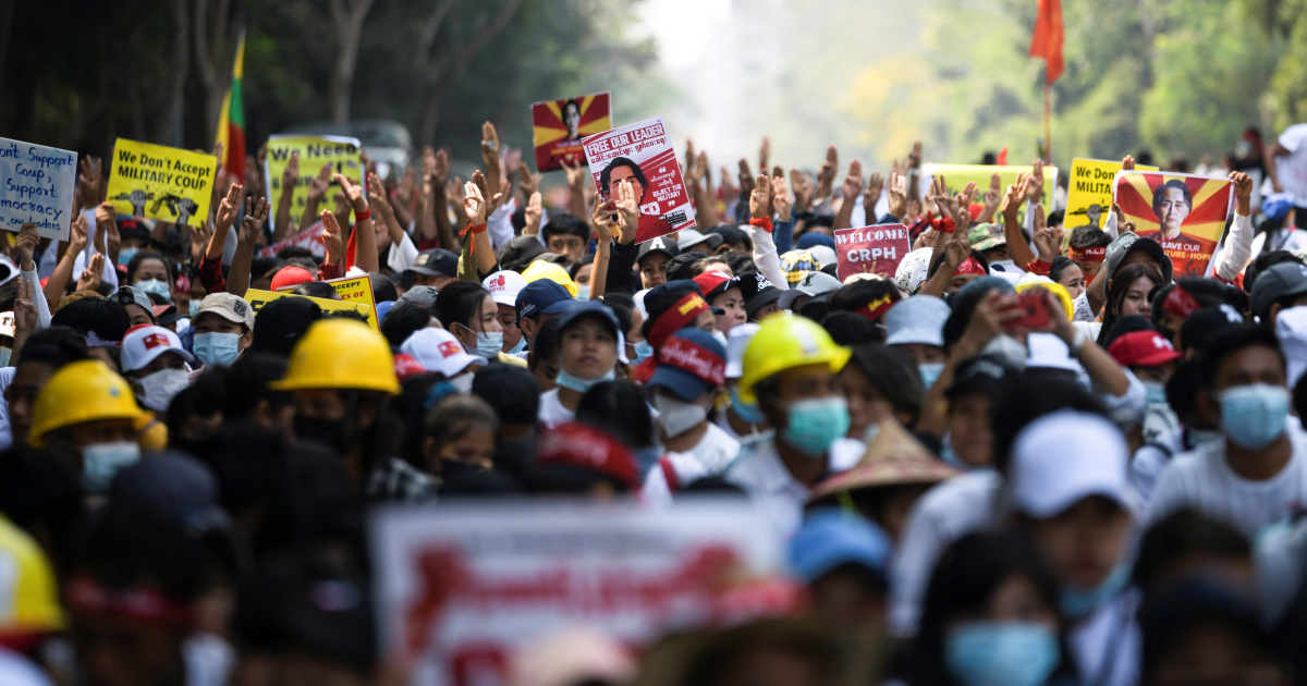 США ввели санкции в отношении еще двух генералов Мьянмы после разгона протестов
