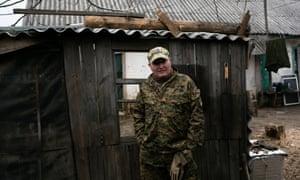 Украинский солдат под псевдонимом Каба