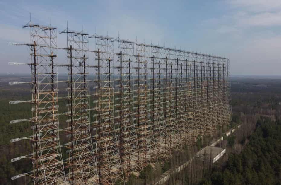 Радар советского производства возле Чернобыля.