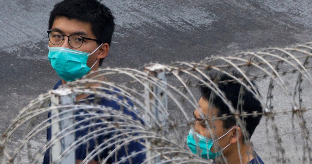 Джошуа Вонг признал себя виновным в «незаконном собрании» в Гонконге
