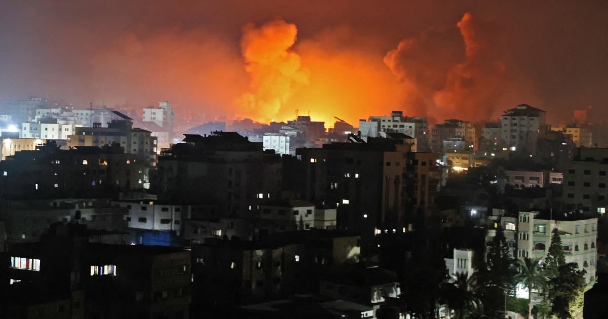 Смерти в Газе, когда Израиль начинает «самые интенсивные рейды на сегодняшний день»: Live