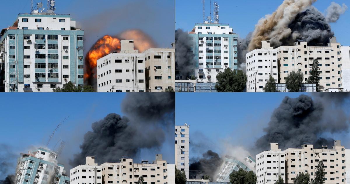 «Дайте нам 10 минут»: как Израиль бомбил телебашню в Газе