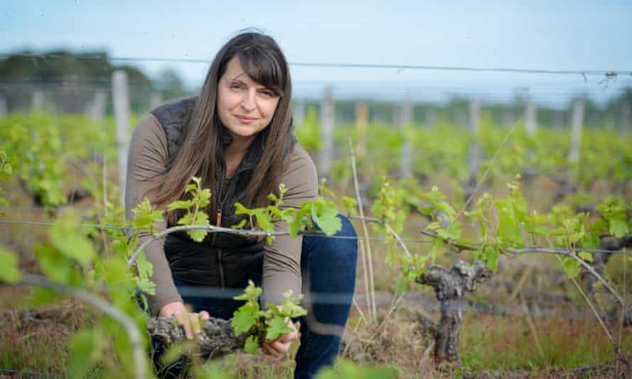 Изабель Панго, владелица L «Виноградник Affût