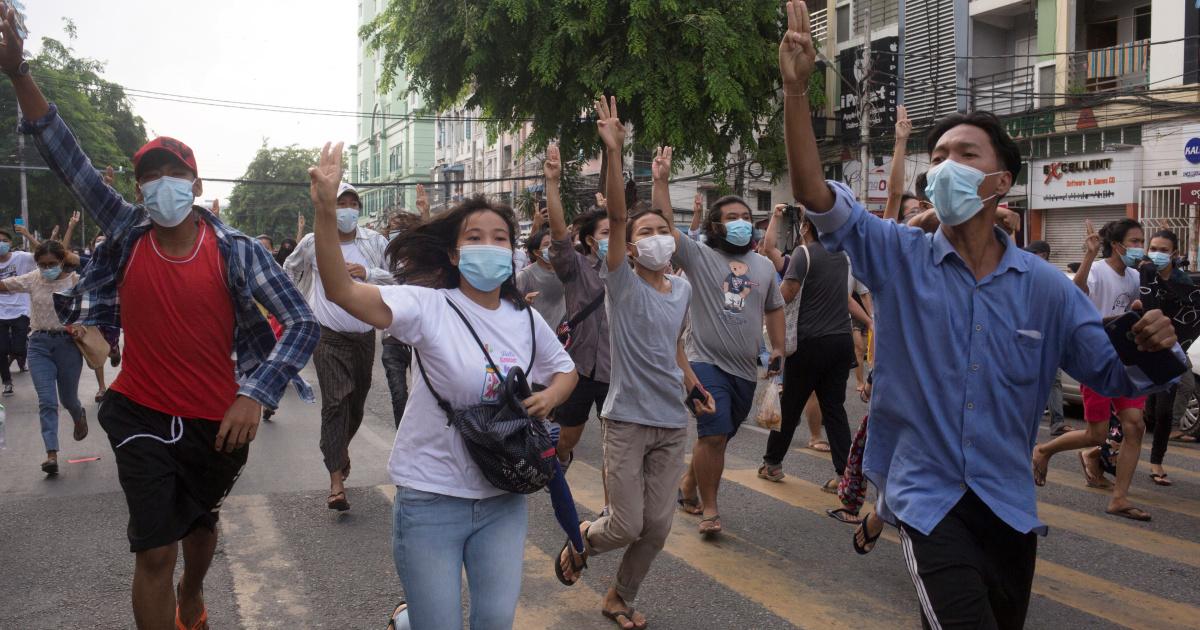 Противники переворота в Мьянме заявляют, что не верят в АСЕАН во время визита посланников