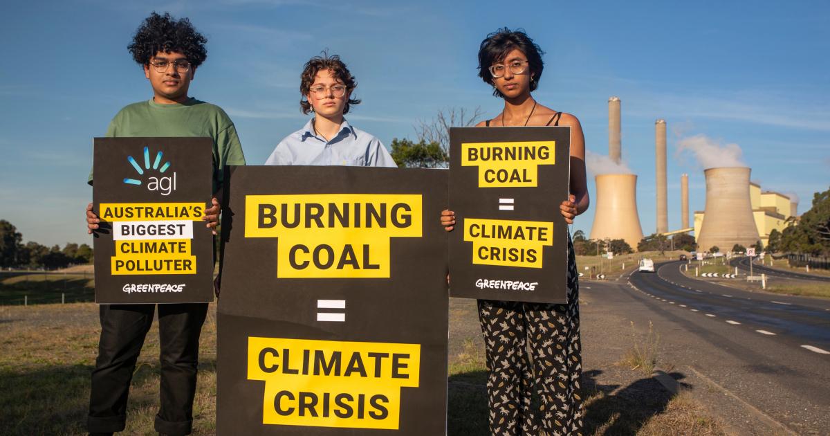 """""""Крупнейший загрязнитель климата"""" Австралии подал на Гринпис в суд"""