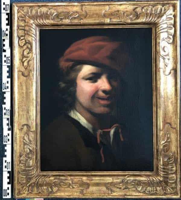 Портрет мальчика голландского художника 17-го века Самуэля ван Хогстратена