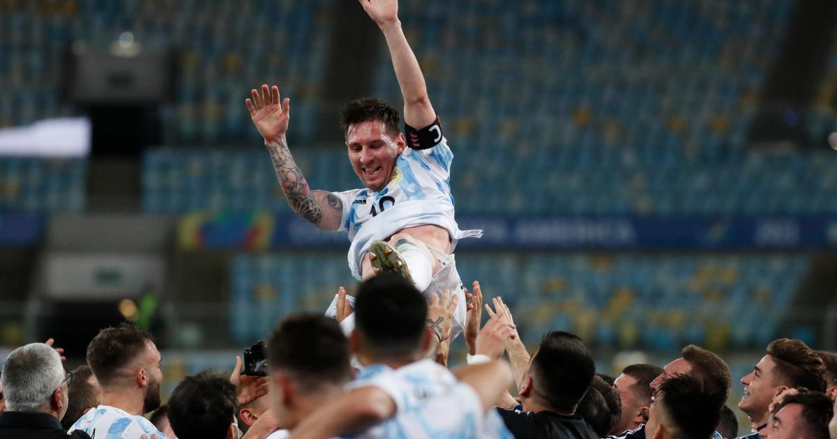 Аргентина обыграла Бразилию 1: 0 и выиграла Кубок Америки