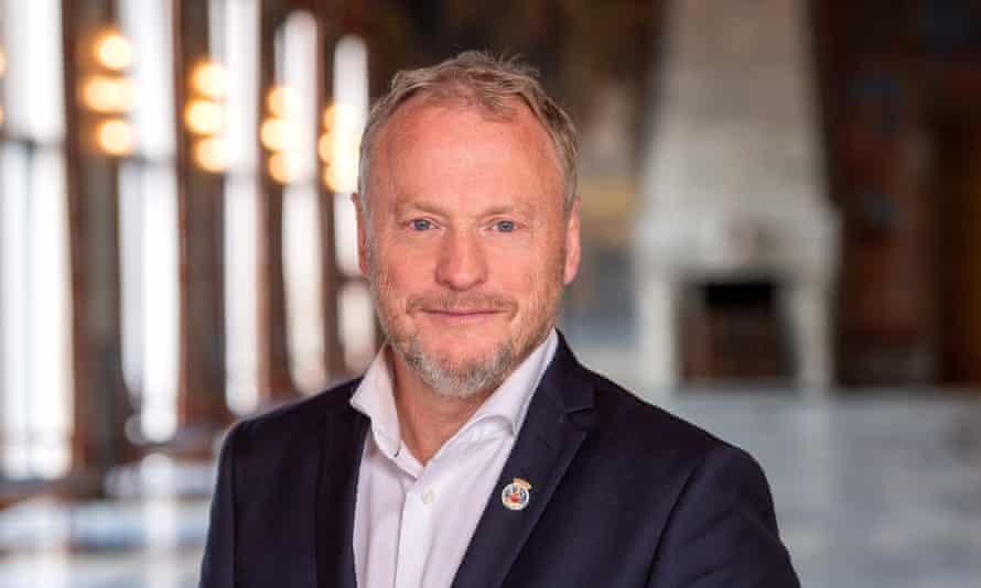 Раймонд Йохансен, правящий мэр Осло.