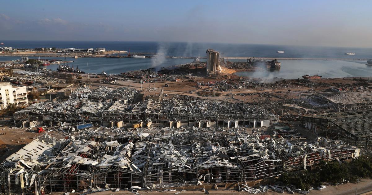 Ливан: взрыв в порту Бейрута, год спустя
