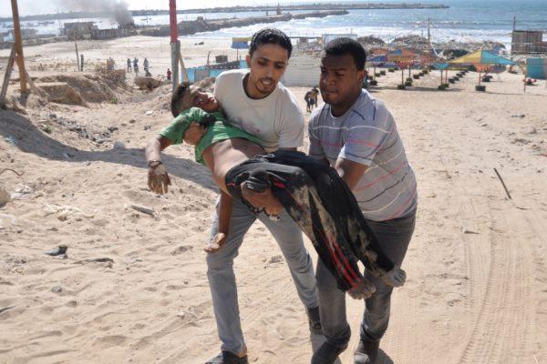 Убийство Израилем палестинских детей