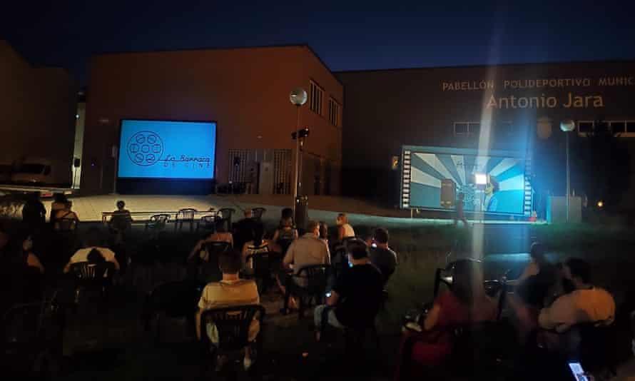 В этом году La Barraca de Cine посетила 45 деревень.