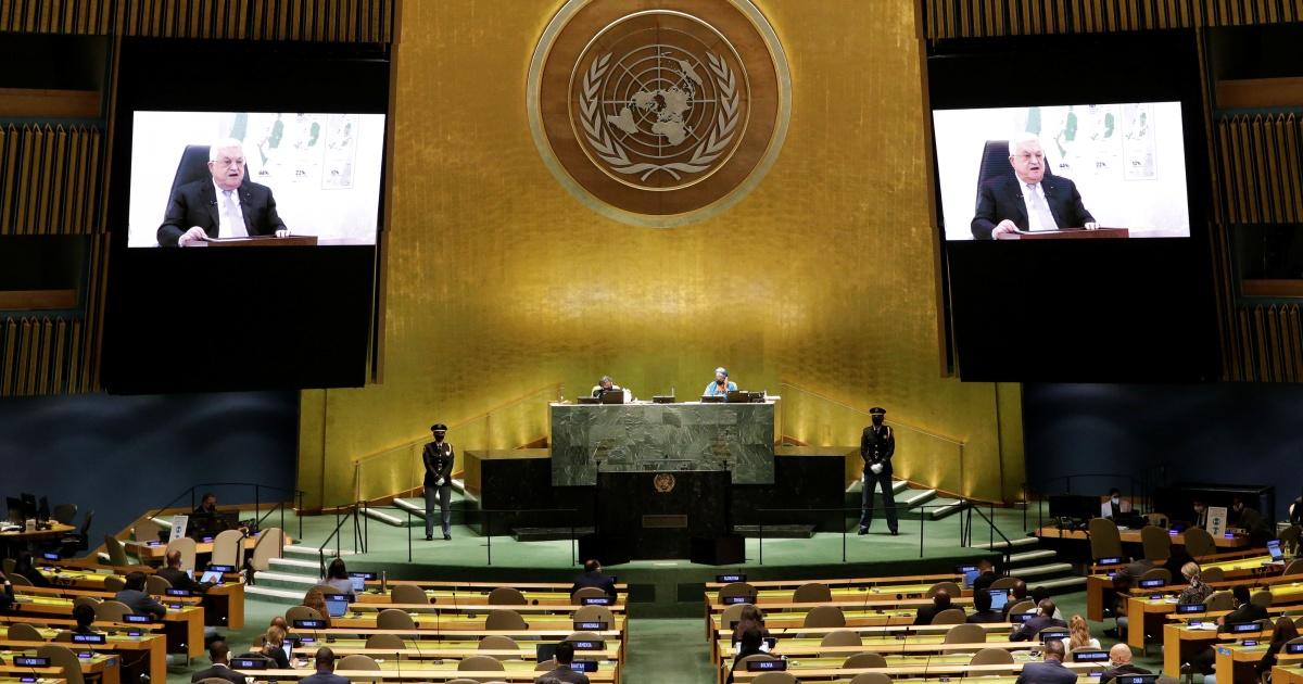 Аббас дает Израилю «один год» на то, чтобы покинуть палестинскую территорию