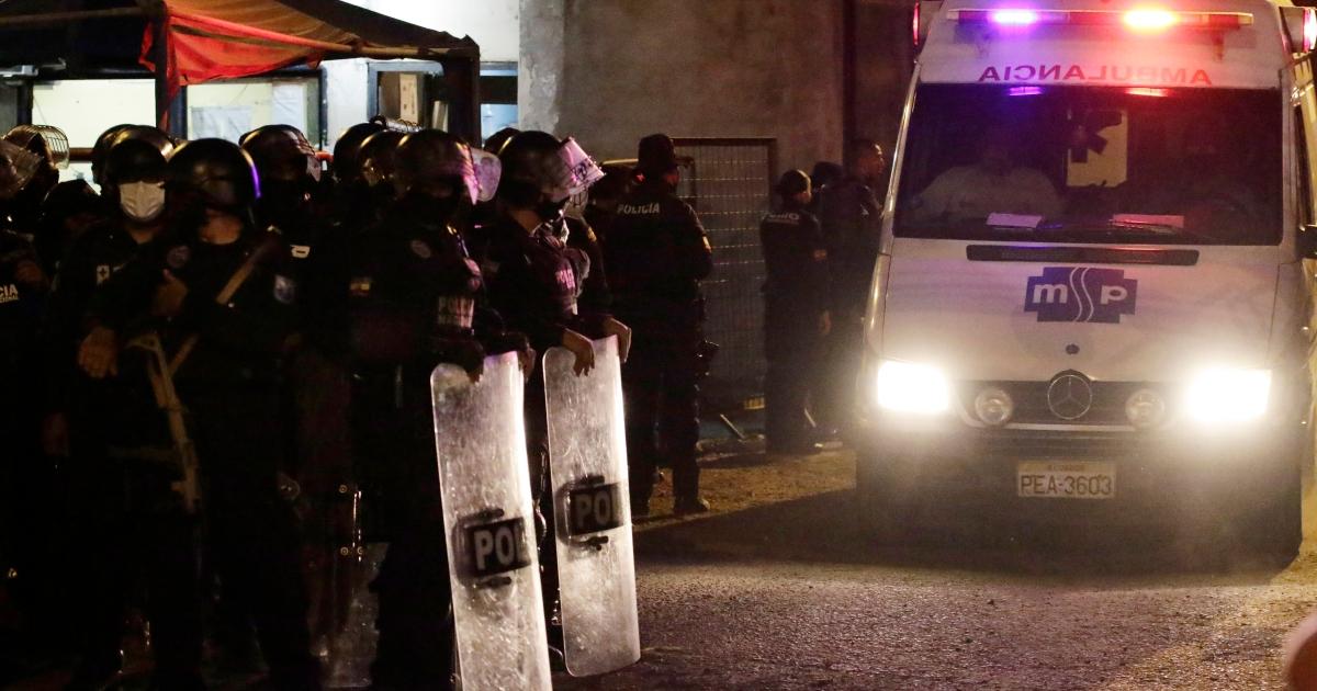 По меньшей мере 24 человека погибли в результате беспорядков тюремных банд в Эквадоре: полиция