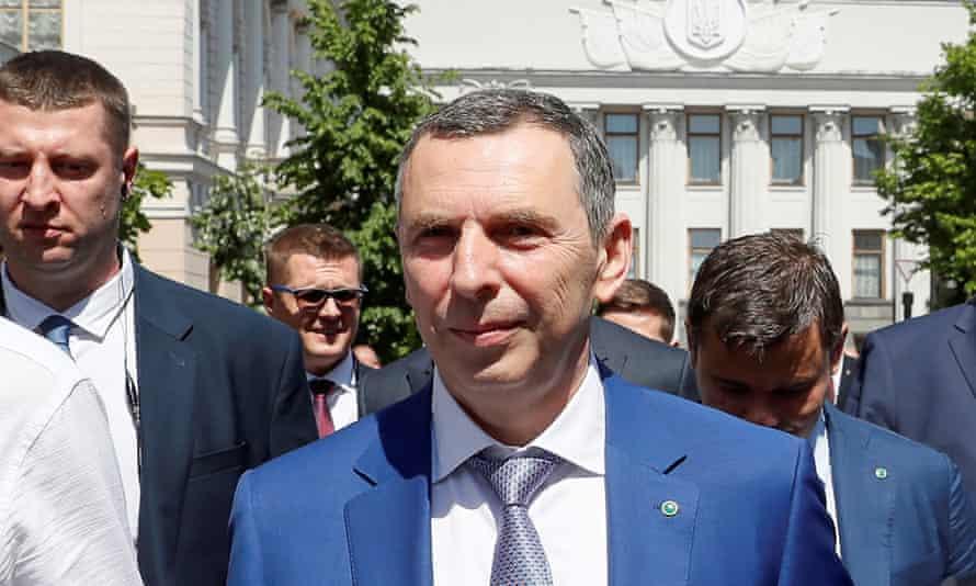 Сергей Шефир на инаугурации Владимира Зеленского в Киеве в 2019 году