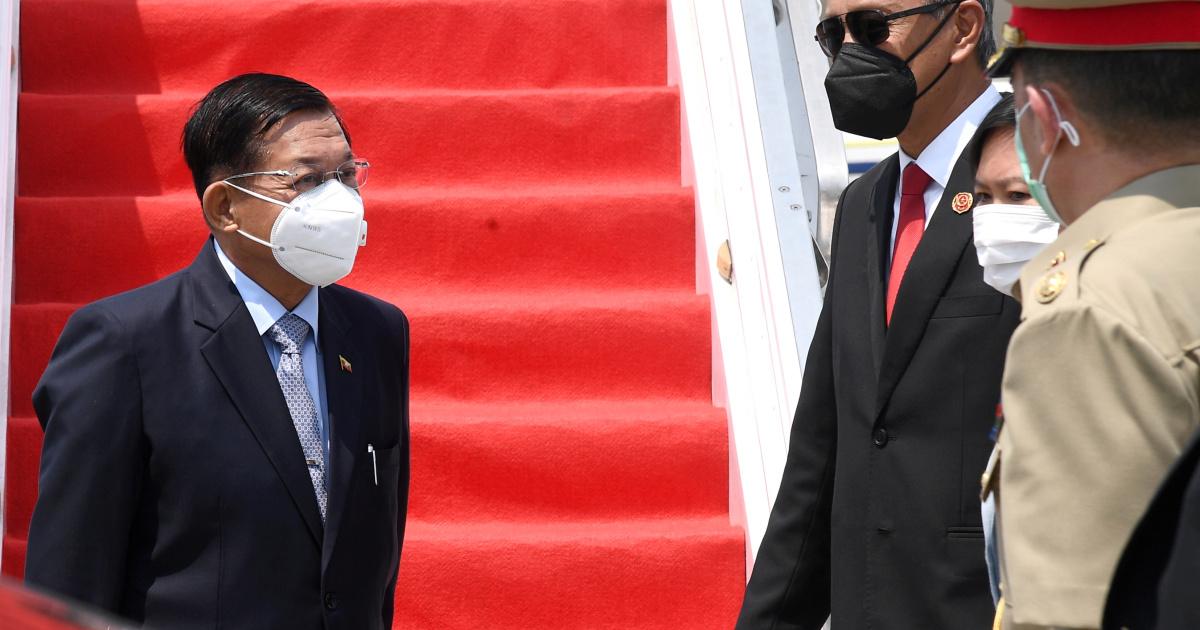 АСЕАН может запретить генералу Мьянмы участвовать в саммите лидеров