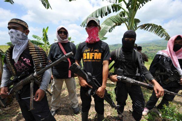 Бойцы отколовшейся мусульманской группировки штурмуют город на юге Филиппин